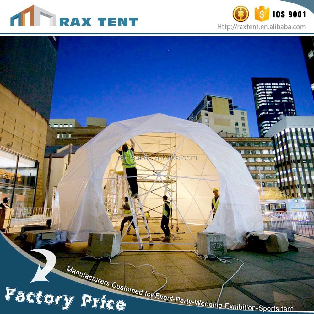 Factory Outlet hot sale geodesic dome tent family garden tent family camping tent wedding party marquee factory price