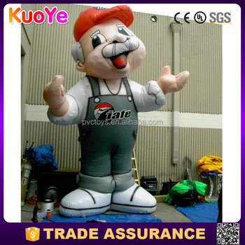 high quality inflatable tall cartoon characters for sale