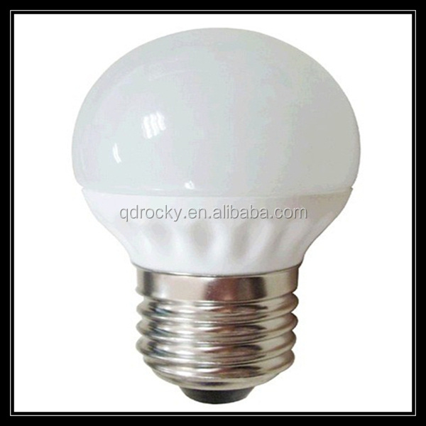Global 3w 4w 5w G45/G40/G50/G80 round LED lighting bulb