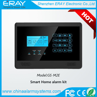 HOT Sale!!Auto usage advanced mobile call gsm wireless smart best intelligent gsm sms 433mhz home alarm system