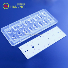 HANVNOL led street light lens cree xpg-2 smd 20w 30w 40w led light lens manufacturers