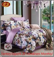 230*250 king size bedding set, Red 3D pink brown flower Rose Cotton queen size Bed Duvet, Quilt Cover Sets sheet
