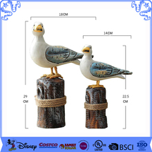 2017 Popurlar Desk Decoration Resin Seagull Figurine