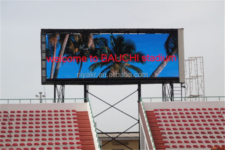 Niyakr Manufacture Price High Quality Outdoor Stadium LED Advertising Panel