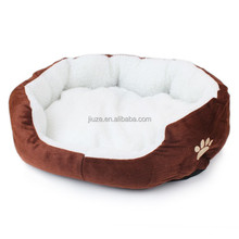 Soft Fabric Cotton Cat Bed Fleece Warm Pet Bed Kennel Plush Mat Small Dog Bed