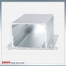 Aluminum 6063 extrusion enclosure for PCB