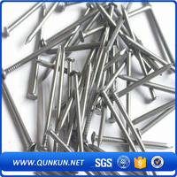 Twist shank umbrella head roofing nails with plastic washer factory made in China