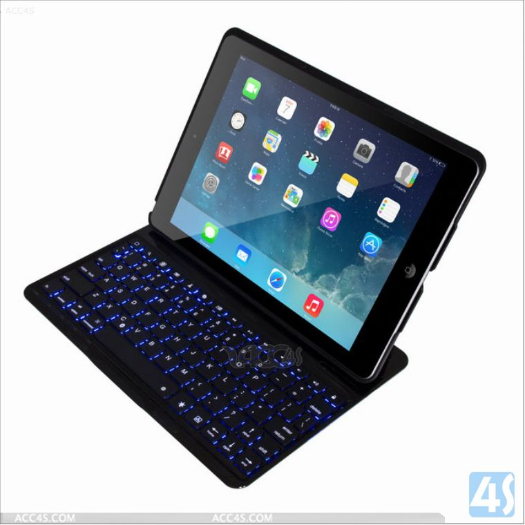balck friday hot sell leather case with keyboard for ipad air/ipad 5/ipad 5th gen, tablet cover keyboard for ipad air