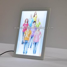 New products 2015 photo light box tabletop LED picture frame small led display