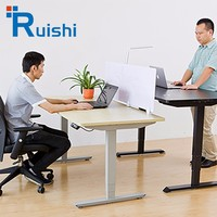 Most Popular Electric Height Adjustable Office Furniture Director Desk