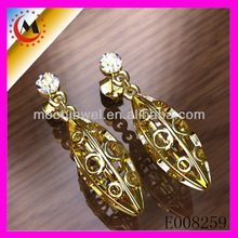 GOLD ANIMAL SEX WITH LADIES EARRINGS DESIGN HOT SALE ALIBABA