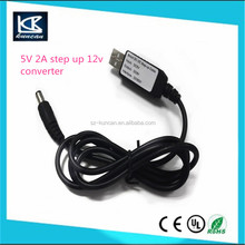 5v 2a step up 12v MAX 10W low voltage computer cable 12V 2A