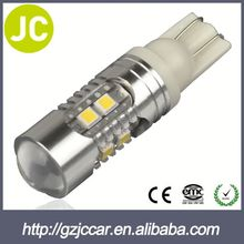 Wholesale market one year warranty 12 volt car led bulb t10 194 168 cob for toyota 1500cc