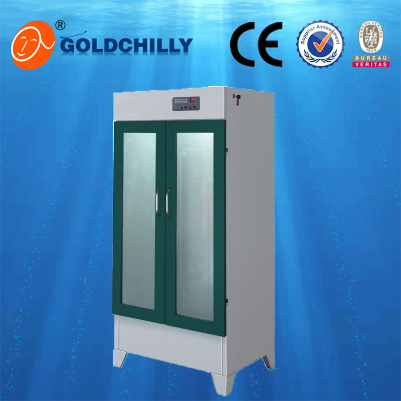 luxury hotel towel disinfection cabinet garment disinfection cabinet with reasonable price