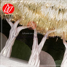 141083 wholesale wedding cheapl wisteria flower for artificial wisteria tree with LED lights