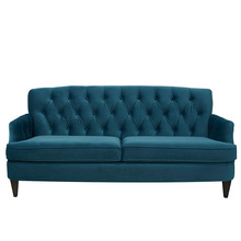 New design home <strong>furniture</strong> factory low MOQ tufted fabric upholstery sofa <strong>furniture</strong>