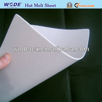 Good Quality Hot Melt Adhesive Sheet For Shoe Toe Puff And Back Counter Materials