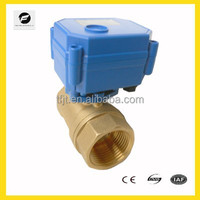 2-way motor ball valve for Irrigation equipment,drinking water equipment,solar water system