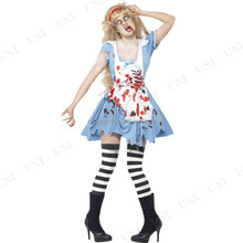 Hot Sale New Design Sexy Adult Zombie Female Halloween costume