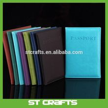 New design for Cheap leather passport cover , genuine leather passport holder on sale