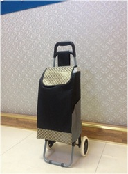colorful personal foldable luggage trolley