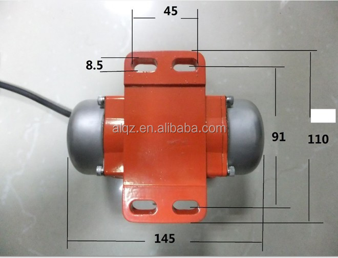 110v 220v single phase electric vibration motor
