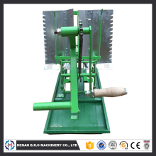 Manual corn planter- rice transplanting machine