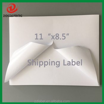 Premium Packing Labels 8.5x5.5 - 1000 Shipping Labels Half-Sheet Self-Adhesive USPS UPS FedEx