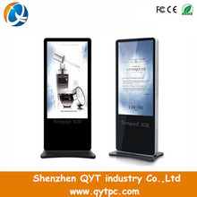 "55"" TFT Touchscreen Vertical WIFI Stand alone lcd monitor"