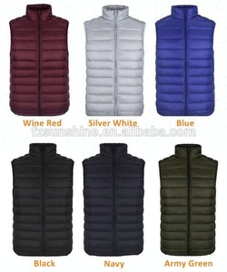 2019 Winter Men Lightweight White Duck Down Sleeveless Jacket