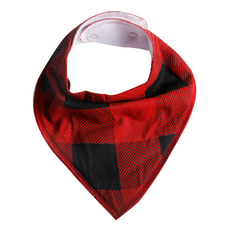 high quality safety organic cotton baby bibs