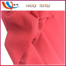 Super quality free samples perspire T-shirt,leisure wear 75D six needle bird eye knit fabric