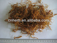 dried red Ginseng fibrous Root low pesticide
