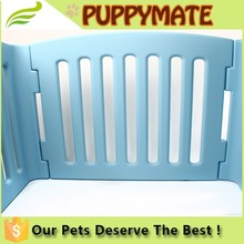 China supply low price large steel aluminum plastic welded wire dog cage