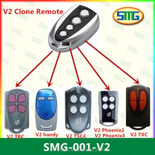Compatible with V2 remote control 433.92mhz for garage or gate opener