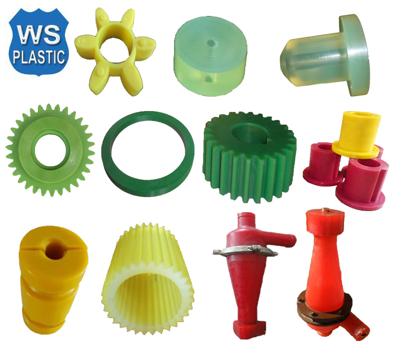 custom casting polyurethane molded parts at low price