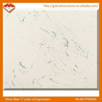 Factory Wholesale Price Interior Decoration White Table Top Cultured Marble