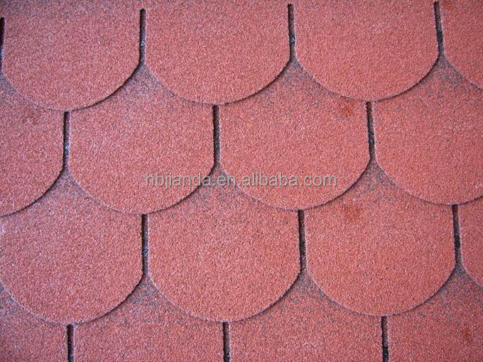 Fiberglass asphalt shingle
