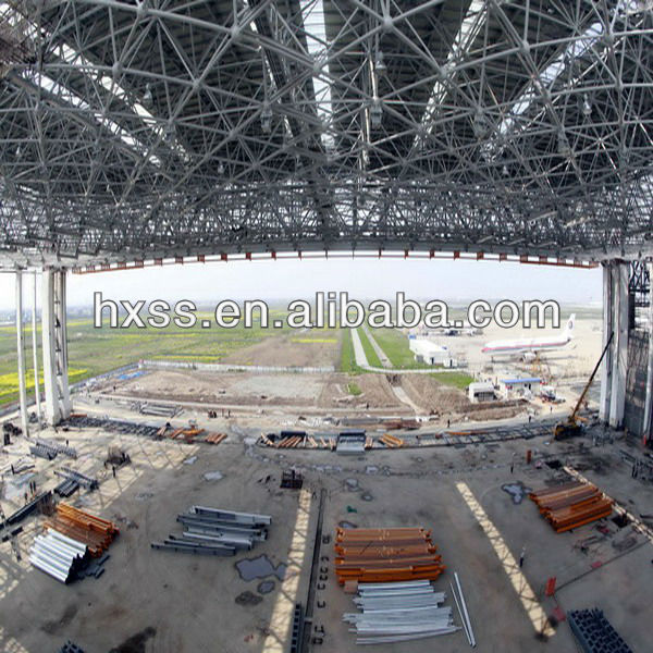 steel structure for air port building(have exported 200000tons)