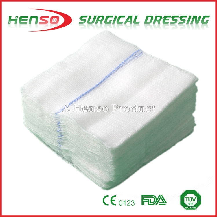 Henso Medical Disposable Absorbent X Ray Cotton Gauze Pad
