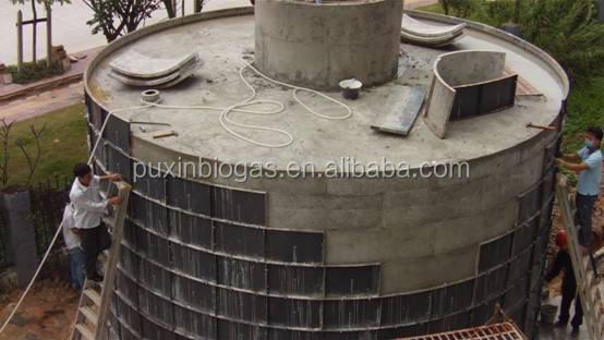 PUXIIN durable sustainable development medium and large size biogas digester