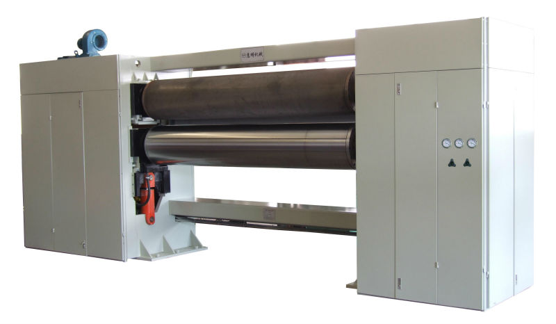 three rollers calender machine for pp spunbond nonwoven fabric production making line