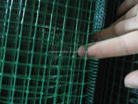 china supplier black welded wire fence mesh panel with good quality