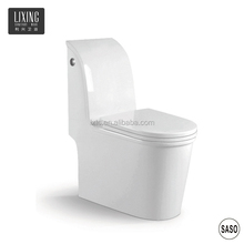 One-piece high water tank flushing water sense standard high quality sanitary ware recliner toilet