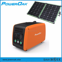 2016 hot sale 500w portable solar power station with 240Vac output for light systems