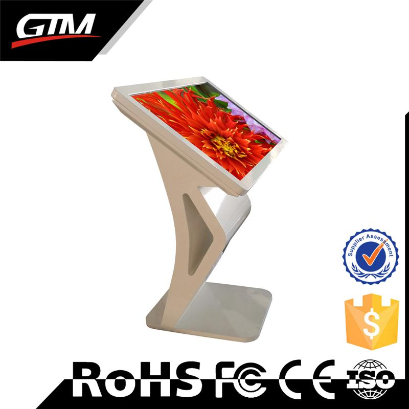 Interactive advertising merchandising player digital signage advertising touch screen/printer kiosk for supermarket