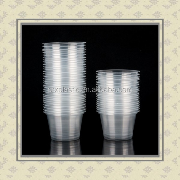 Custom small cup low-cost wholesale disposable cups plastic small base cup candle 5000 per box