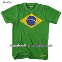 2014 FAFI World Cup Brazil Flag T-Shirt