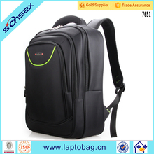 Black design new fashion high quality daily school bag laptop school backpacks