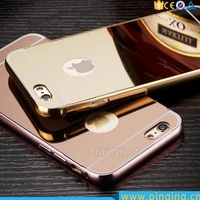 For I6 I7 Case Hybrid Fashion Cover Mirror Phone Case For Iphone 6 7